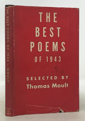 The BEST POEMS Of 1943. Thomas - Moult, Robert Hillyer, August Derleth, Edgar Lee Masters, May...