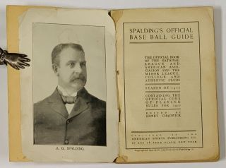 SPALDING'S OFFICIAL BASE BALL GUIDE. Season of 1900.; The Official Book of the National League...