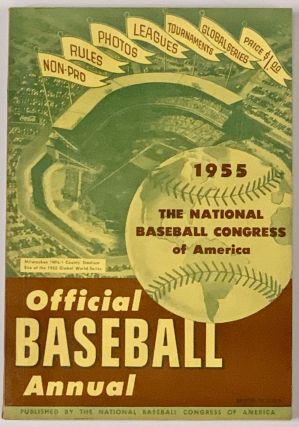 1955 OFFICIAL BASEBALL ANNUAL. Baseball Literature