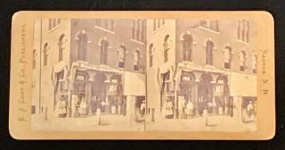VIEWS Of NASHUA, N. H. Bookstore of E. J. Copp & Co. No. 35. Bookselling Trade History,...