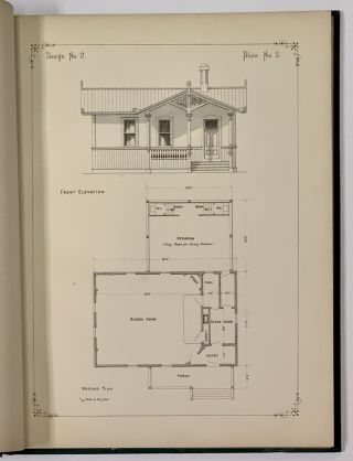 SCHOOL - HOUSE ARCHITECTURE. Illustrated in Seventeen Designs, in Various Styles.; With Full Descriptive Drawings in Plan, Elevation, Section and Detail.