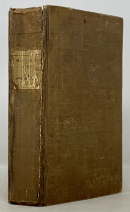 MEMOIRS Of The LIFE Of The RIGHT HONOURABLE RICHARD BRINSLEY SHERIDAN. Thomas . Sheridan Moore,...