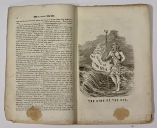 The KING Of The SEA, A Tale of the Fearless and Free.; By Ned Buntline, Late of the United States Navy. 100 Dollar Tale.