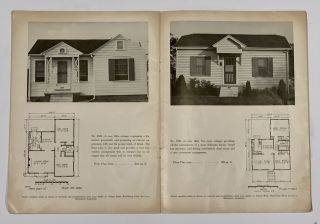 UP - TO - DATE SMALL HOMES.; Price $1.00