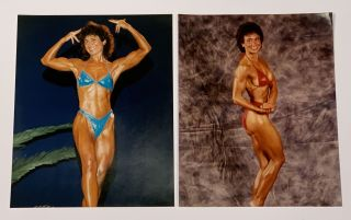 ARCHIVE Of A FEMALE BODY BUILDER. Carolyn Ciardullo