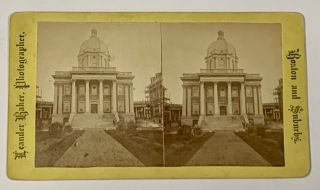BOSTON And SUBURBS. City Hospital. Boston Local History / Stereoview, Leander - Photographer...