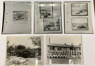 MILITARY SERVICE ARCHIVE, Ca 1916 - 1960s. ~ 150 Items.