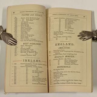 LIST Of STEREOSCOPIC, ALBUM, CABINET And IMPERIAL VIEWS. 1873.; By G. W. Wilson, Photographer, 24 Crown Street, Aberdeen.