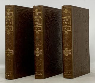 The MONARCHS Of The MAIN; or, Adventures of the Buccaneers. In Three Volumes.