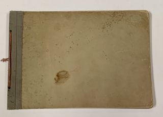 PHOTOGRAPH ALBUM COMPRISING 14 ALBUMEN IMAGES Of TURN-Of-The-CENTURY VESSELS, Including Battle-ships.