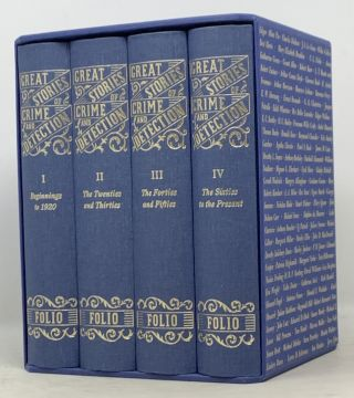 GREAT STORIES Of CRIME And DETECTION. In Four Volumes.; With an Introduction by H. R. F. Keating.