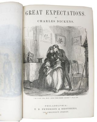 GREAT EXPECTATIONS. Complete in One Volume.; From Peterson's Uniform Duodecimo Edition of the Complete Works of Charles Dickens.