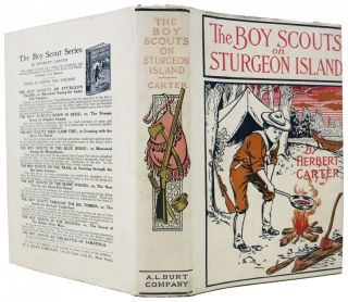 The BOY SCOUTS On STURGEON ISLAND or Marooned Among the Game-Fish Poachers. The Boy Scout Series #7.