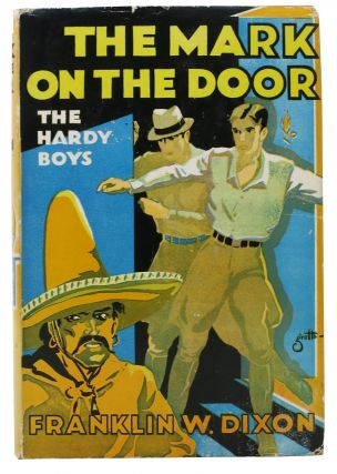 The MARK On The DOOR. The Hardy Boys Mystery Series #13. Franklin W. J. Clemens Gretta - Dixon