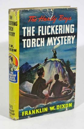 The FLICKERING TORCH MYSTERY. The Hardy Boys Mystery Series #22. Franklin W. Dixon