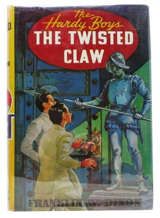 The TWISTED CLAW. The Hardy Boys Mystery Series #18. Franklin W. Laune Dixon, Paul