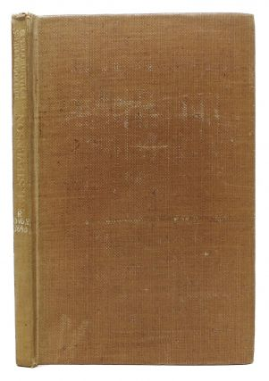 ROBERT LOUIS STEVENSON.; A Bibliography Of His Complete Works. J. Herbert Slater.