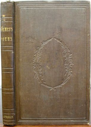 POEMS. Charles. 1812 - 1870 Dickens, Oliver Wendell Holmes, 1809 - 1894