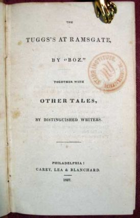 """The Tuggs at Ramsgate."" [as published in] The TUGGS'S At RAMSGATE. Together with Other Tales, by Distinguished Writers. The Library of Fiction, Consisting of Tales, Essays, and Sketches of Character."