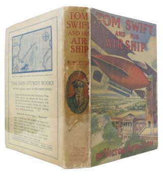 TOM SWIFT And His AIRSHIP. Tom Swift Sr. Series #3.